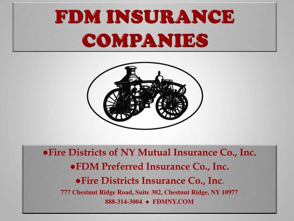 PPT - FDM Insurance companies PowerPoint Presentation ...