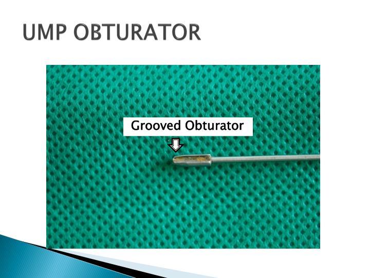UMP OBTURATOR