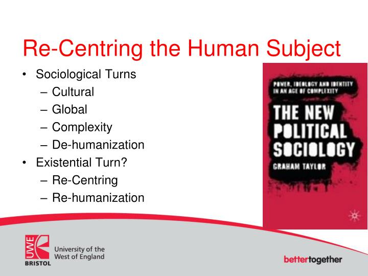 Re-Centring the Human Subject