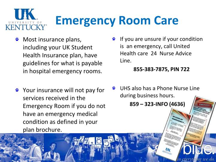 Emergency Room Care