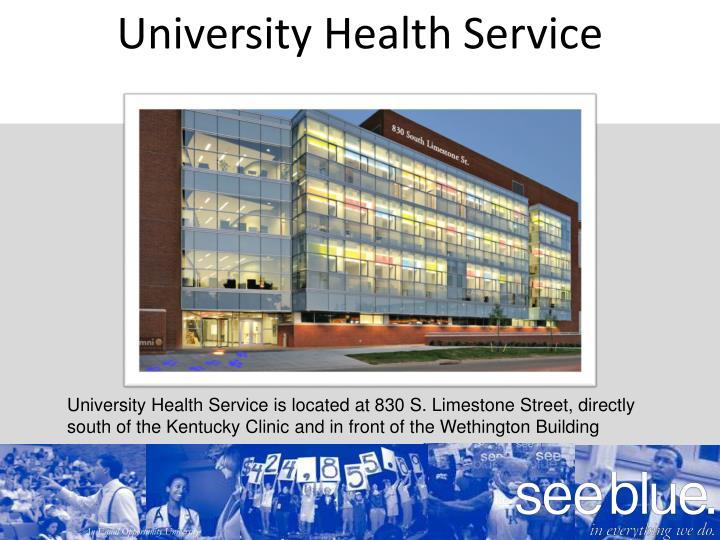 University Health Service