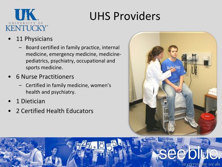 UHS Providers