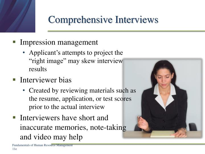 Comprehensive Interviews