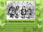 14 political machines political bosses