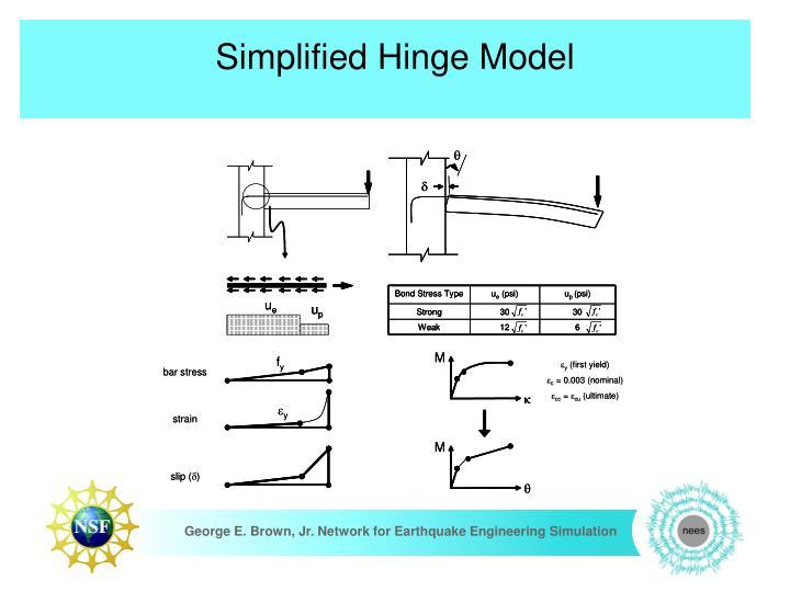 Simplified Hinge Model