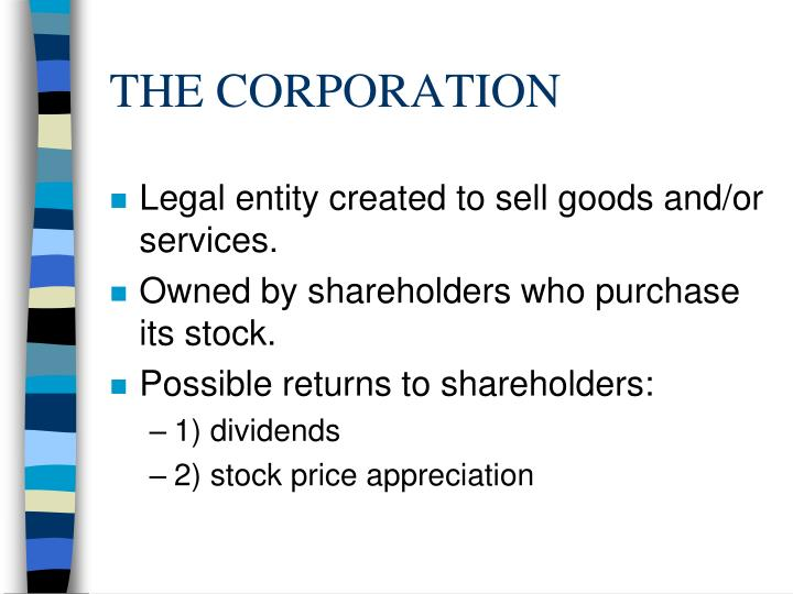 corporations are only accountable to shareholders This article provides a brief overview of the various grounds for shareholder liability under shareholders cannot be held companies having only one.
