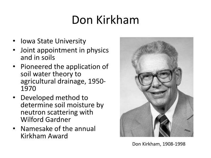Don Kirkham