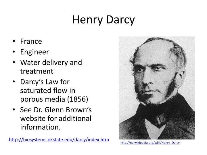Henry darcy