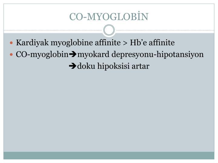 CO-MYOGLOBİN
