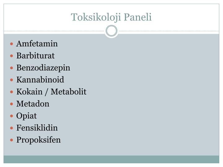 Toksikoloji