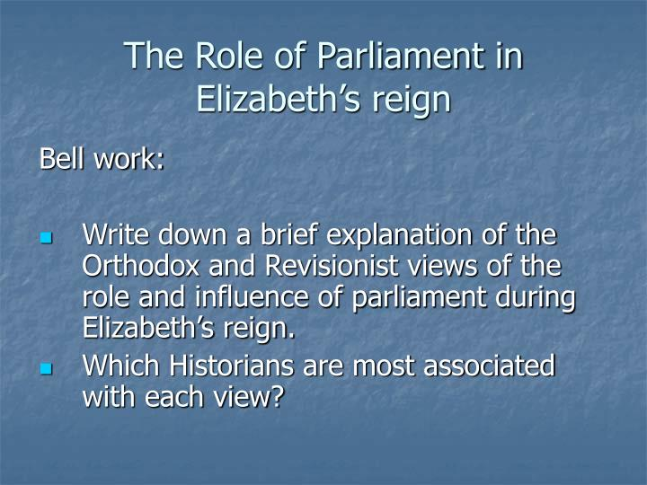 influences on parliament Extracts from this document introduction module 1 - law making influences on parliament, and statute creation a) there are many influences operating on parliament before and during the legislative process.