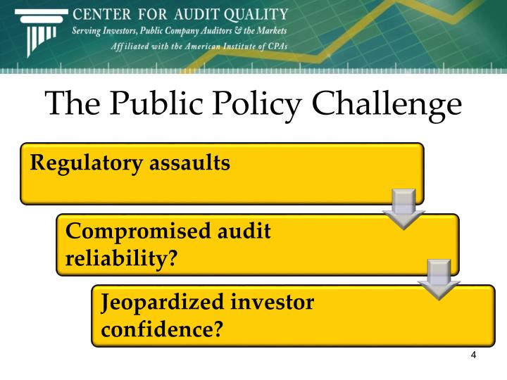 The Public Policy Challenge