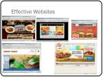 effective websites