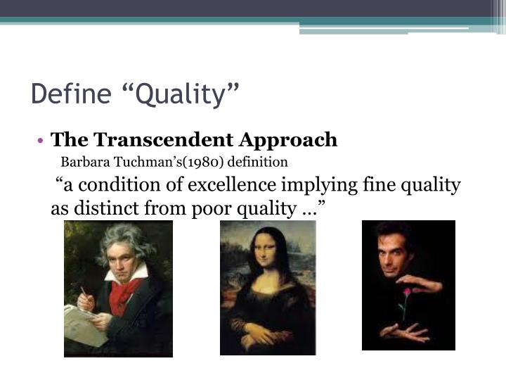 Define quality