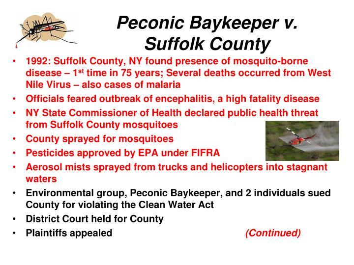 Peconic Baykeeper v.