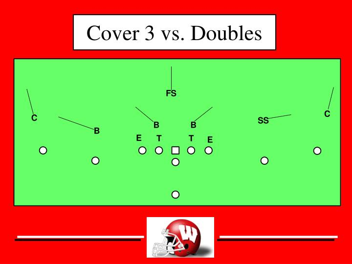 Cover 3 vs. Doubles