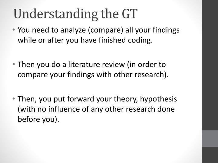 Understanding the GT
