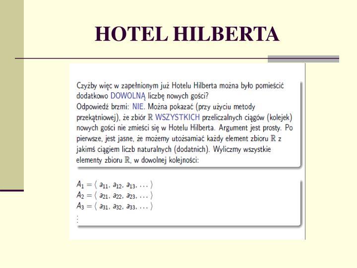 HOTEL HILBERTA
