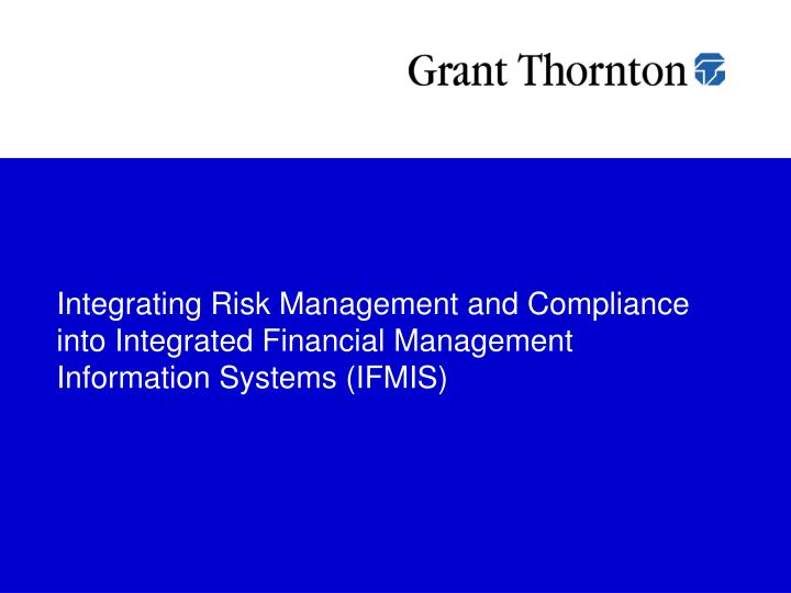 impact of ifmis on managent of Integrated financial management information system (ifmis) is an automated system used for public financial management  governments across the world are increasingly adopting ifmis [ 4 ] ifmis has widely been used in effective and transparent public resources management.