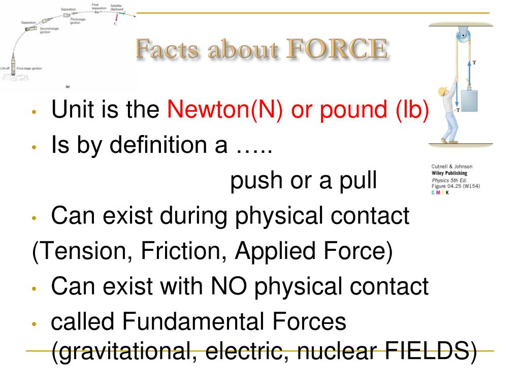 PPT - Newton's First & Second Law PowerPoint Presentation