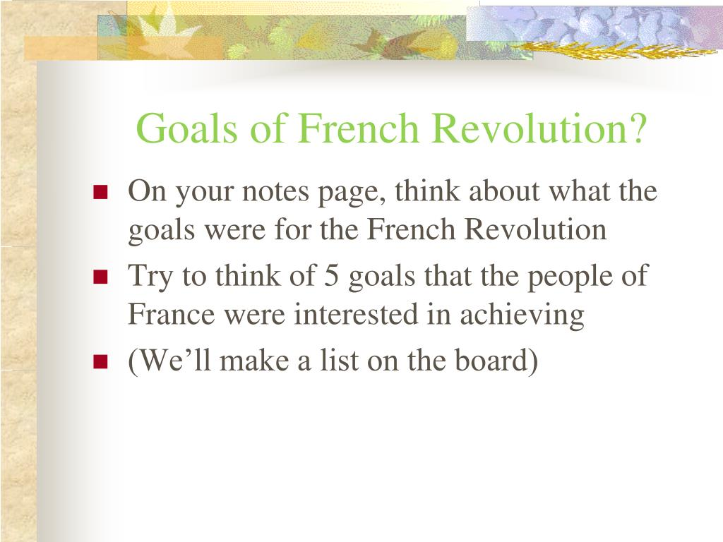 PPT - The French Revolution PowerPoint Presentation, free ...