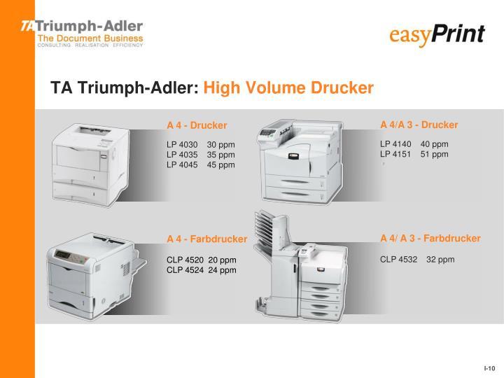 TA Triumph-Adler: