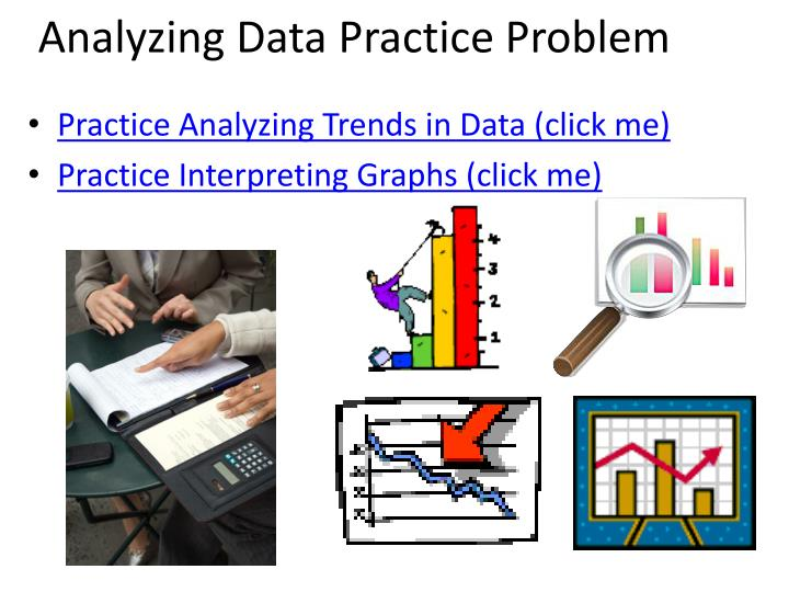 Analyzing Data Practice Problem