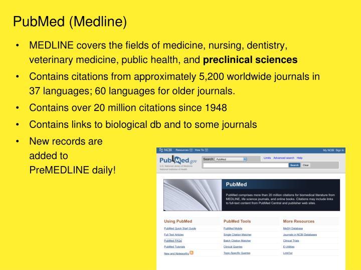 PubMed (Medline)