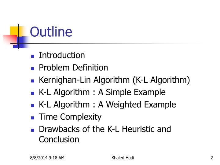 Kernighan-lin(kl) algorithm for partitioning youtube.