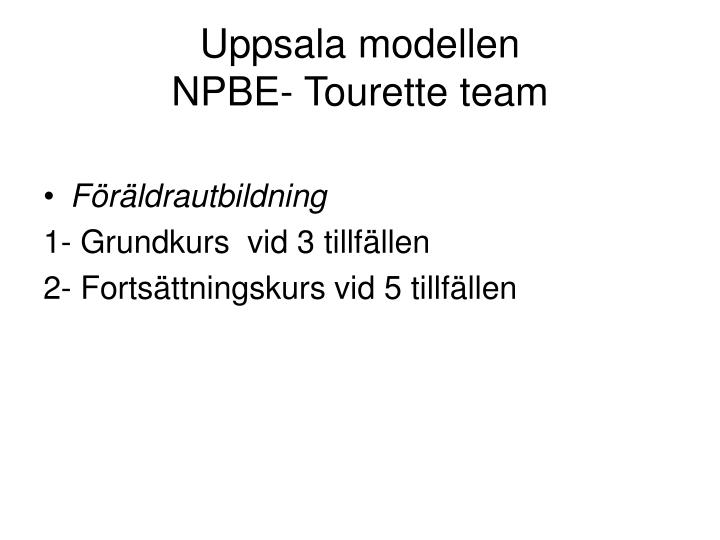 Uppsala modellen