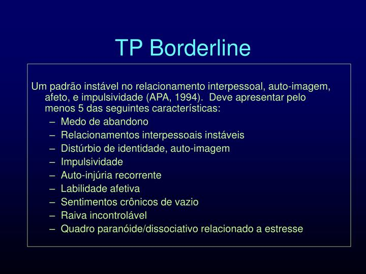 TP Borderline