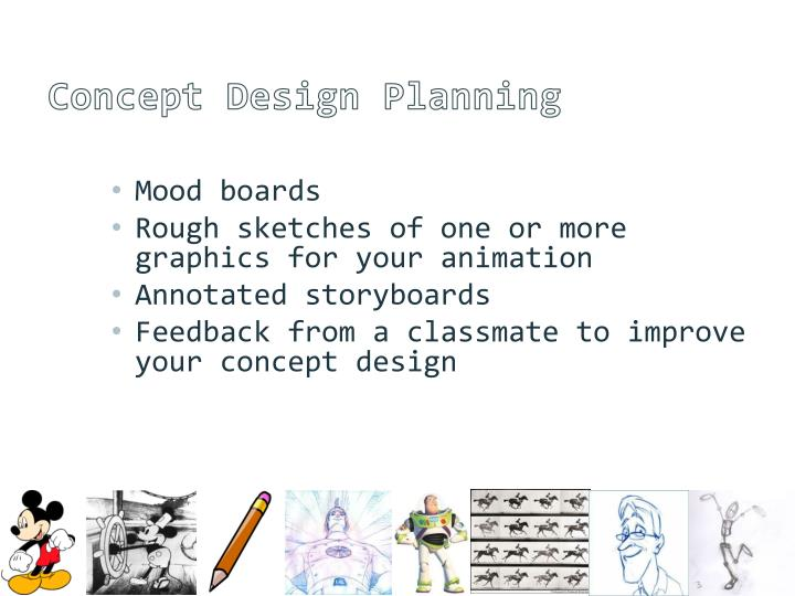 Concept Design Planning