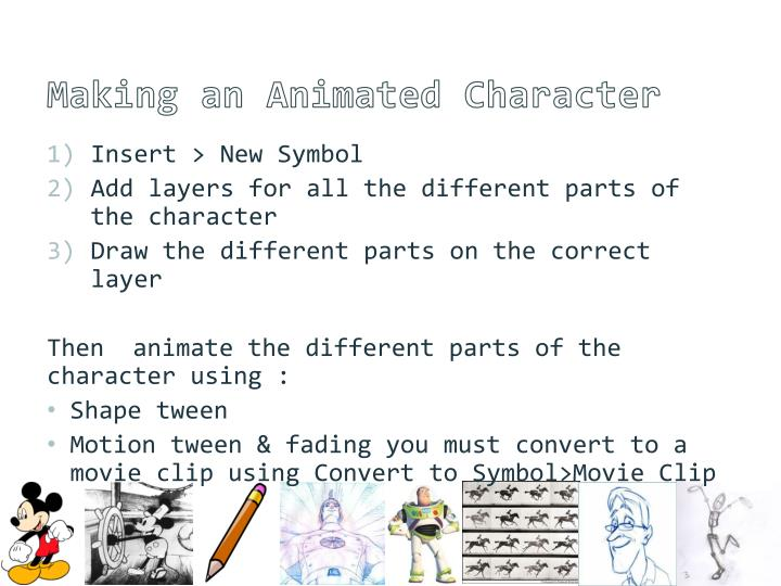 Making an Animated Character