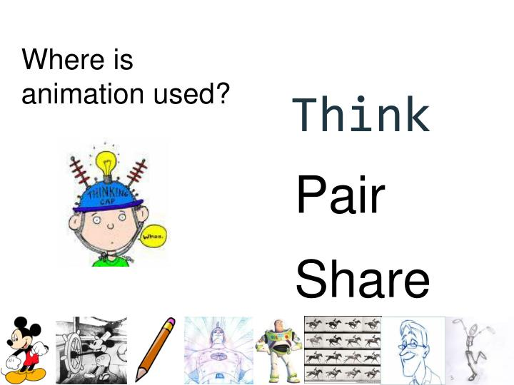 Where is animation used?