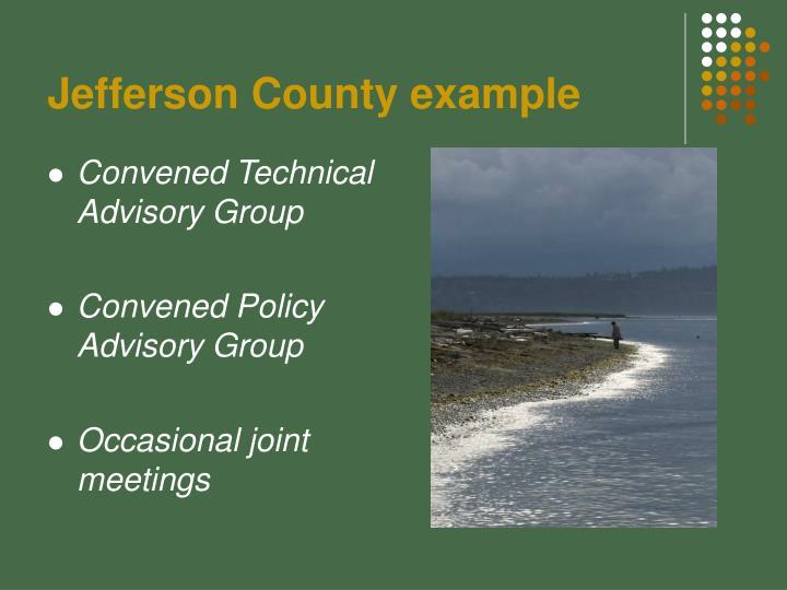 Jefferson County example
