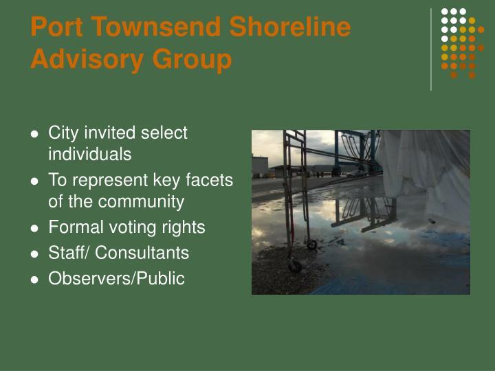 Port Townsend Shoreline Advisory Group