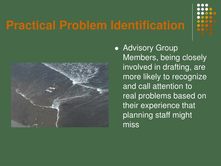 Practical Problem Identification