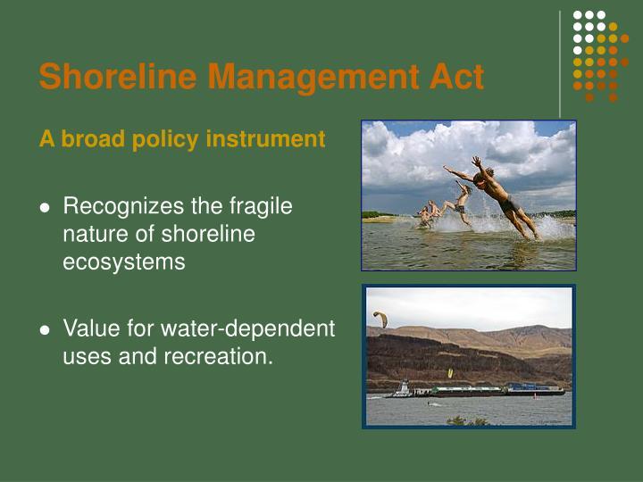 Shoreline management act1