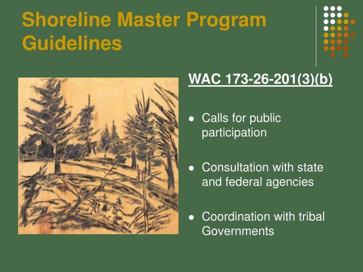 Shoreline Master Program Guidelines