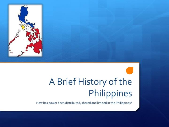 a brief history of the philippines n.