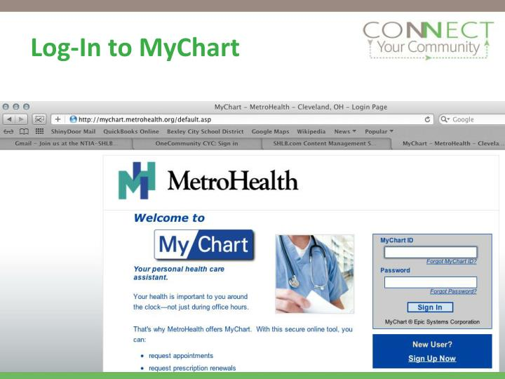 Log In To Mychart