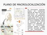 plano de macrolocalizaci n