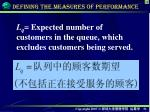 defining the measures of performance1