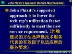 john phixitt s approach reduce machines rep1
