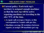the dupit corp problem2
