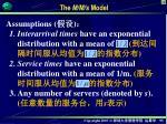 the m m s model
