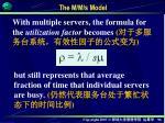 the m m s model1