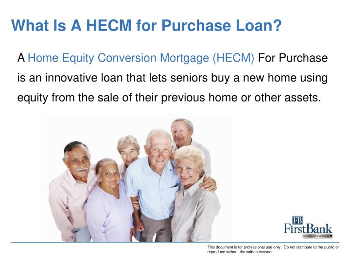 What is a hecm for purchase loan