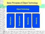basic principles of object technology