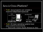 java is cross platform1